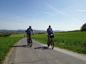 Fahrt in den Mai ca. 70 km @ Großschönau - Druckerei Dünnbier